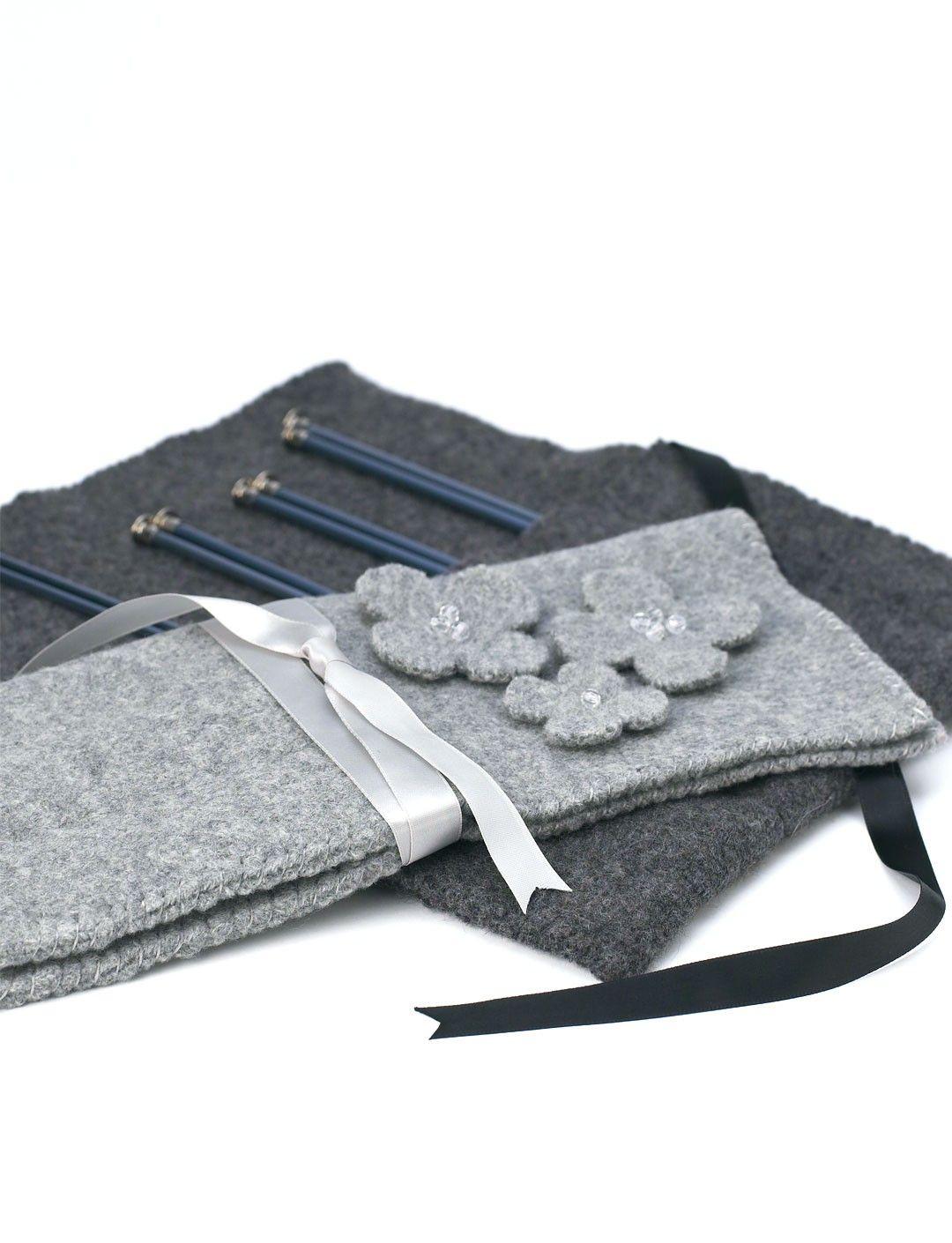 Yarnspirations.com - Patons Felted Knitting Needle Case - Patterns ...