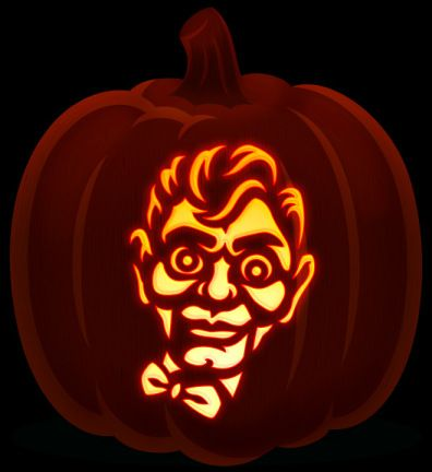 goosebumps 2 pumpkin carving  Slappy goosebumps pumpkin in 6 | Pumpkin decorating ...