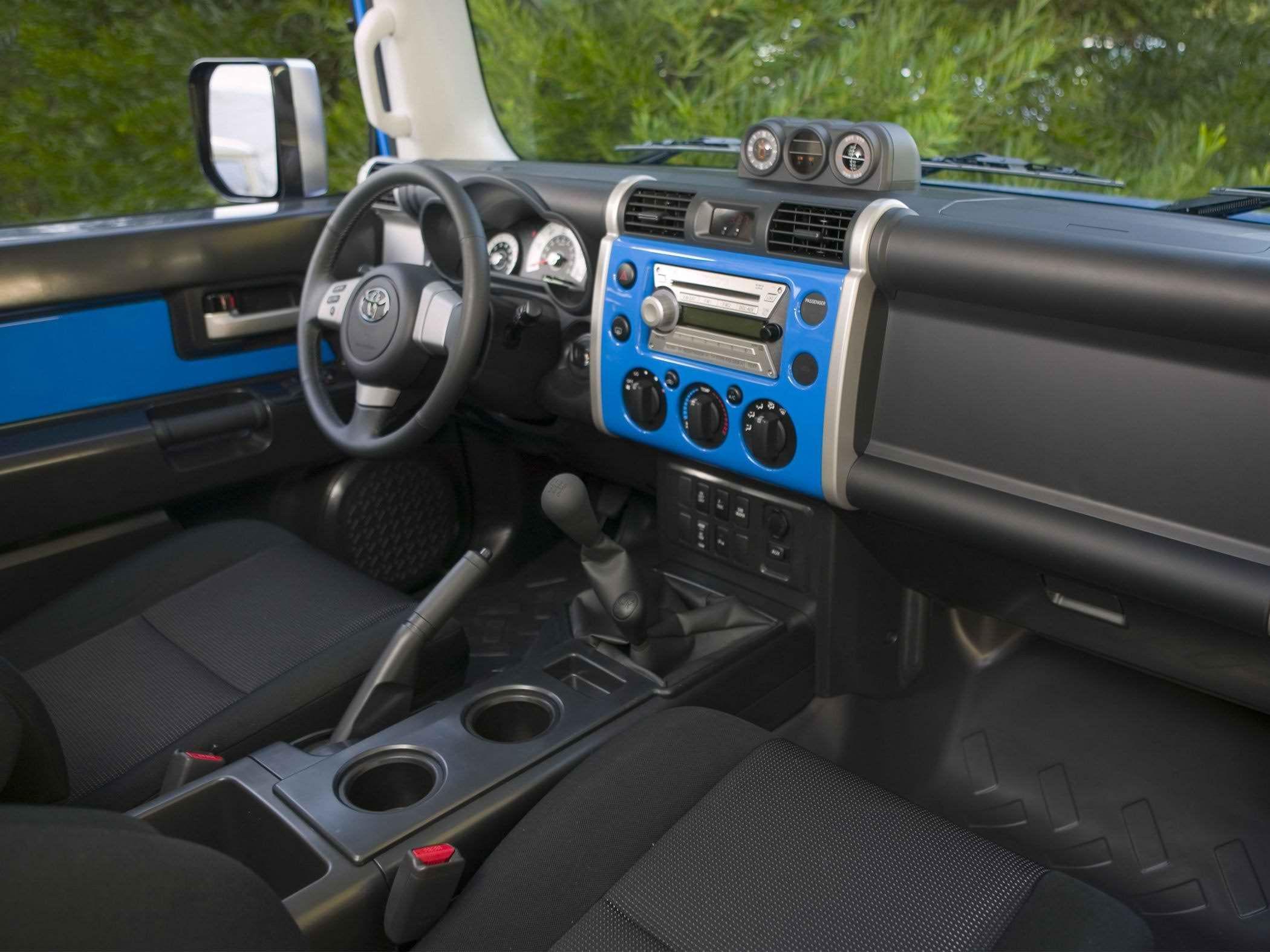 2017 Toyota FJ Cruiser interior Dashboard Toyota fj