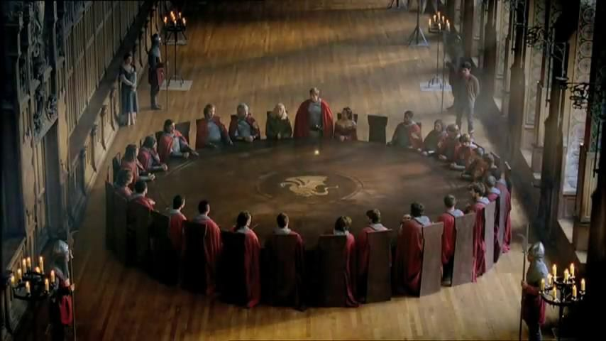 The knights of the round table | Arthur and the knights ...