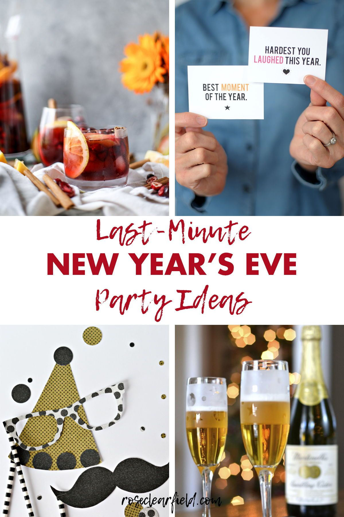 Last-Minute New Year's Eve Party Ideas | New years eve day ...
