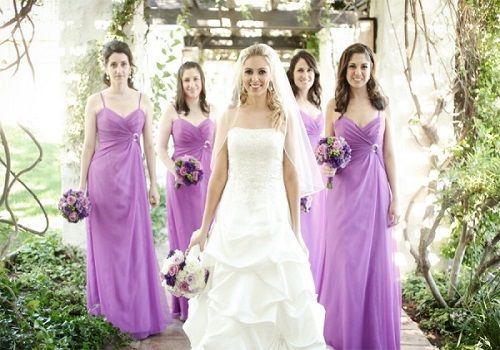 Spring color for bridesmaids dress