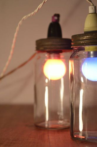 Amabyss - Jam Jar Lamps, £66.00 (http://www.amabyss.com/jam-jar-lamps/)