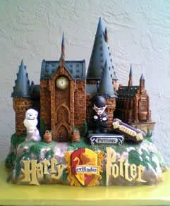 Harry Potter Cake = LOVE