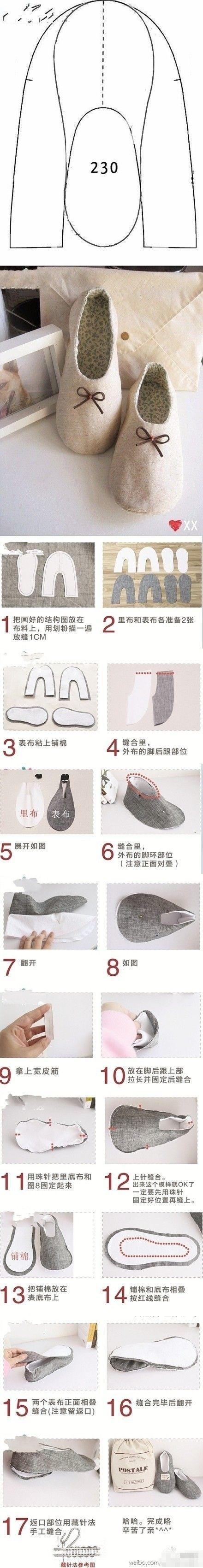 slippers creaciones pinterest n hen schuhe und schuhe h keln. Black Bedroom Furniture Sets. Home Design Ideas