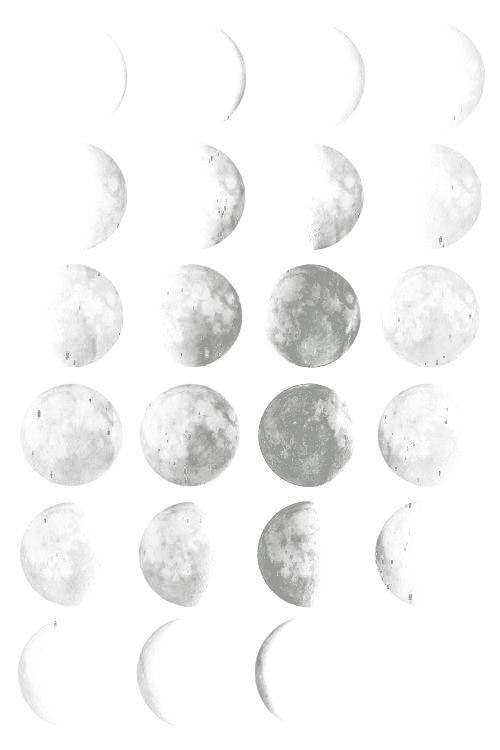 Moon Overlay Transparent Pinterest