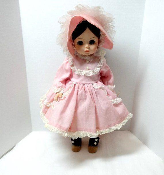 a9fc83b72357f 1970-80s Madame Alexander Rebecca Doll, Sunnybrook Farm, 14 Inch ...