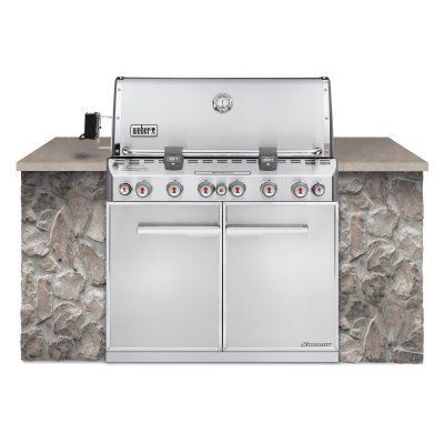 Weber Summit S-660 Built In Gas Grill - Propane - 7360001, WEB171-1 ...