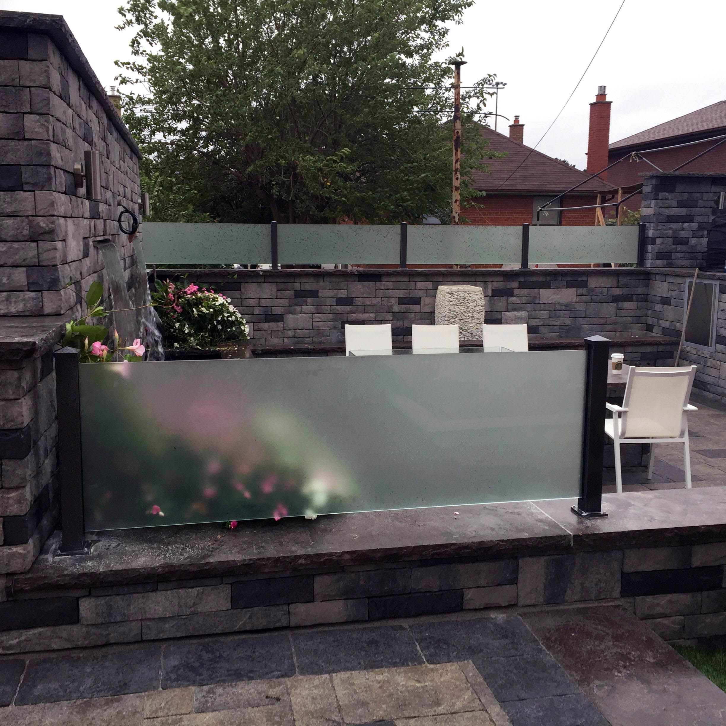 Best Latest Glass Railing Company Near Me For 2019 Glass 400 x 300