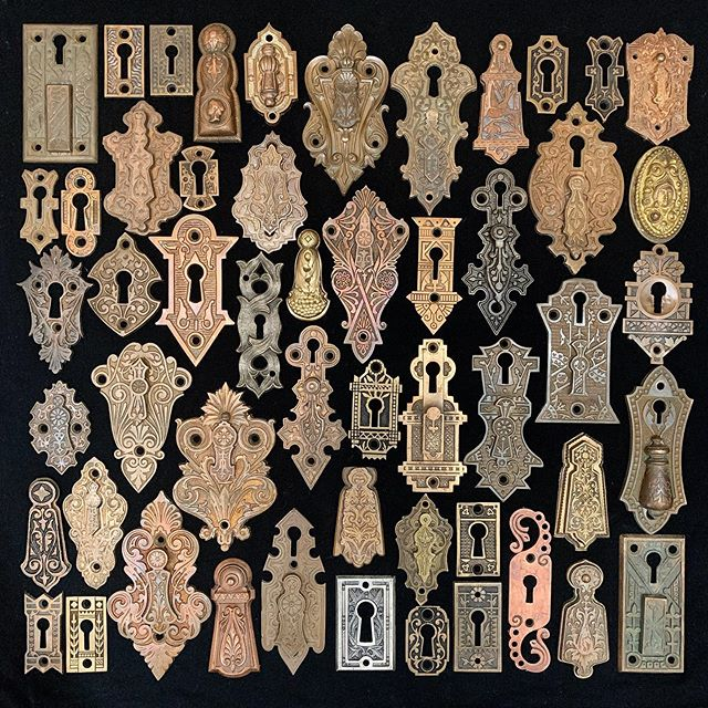 "Atlas on Instagram: ""Victorian key hole covers ..."