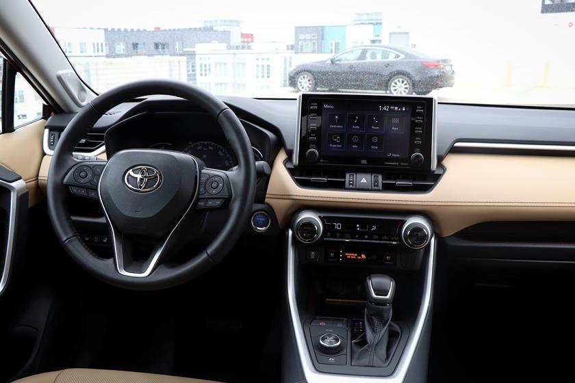 2020 Toyota Rav4 Hybrid Dashboard Photo In 2020 Toyota Rav4 Hybrid Rav4 Hybrid Toyota