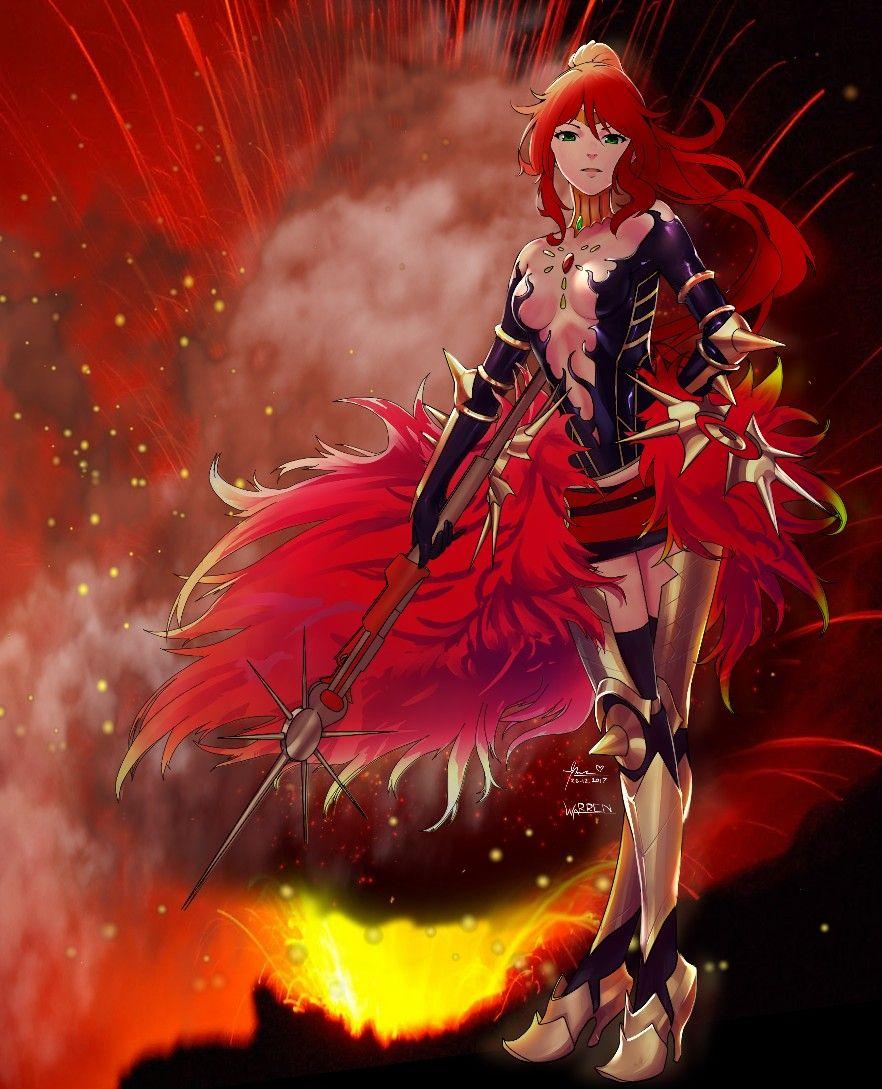Pyrrha Nikos Anime Rwby Rwby Rwby Pyrrha Rwby Anime