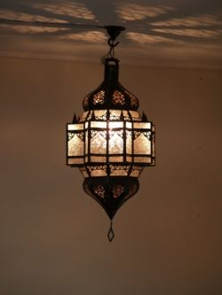 Moroccan Lantern - to turn our bedroom into a jewel like boudoir...