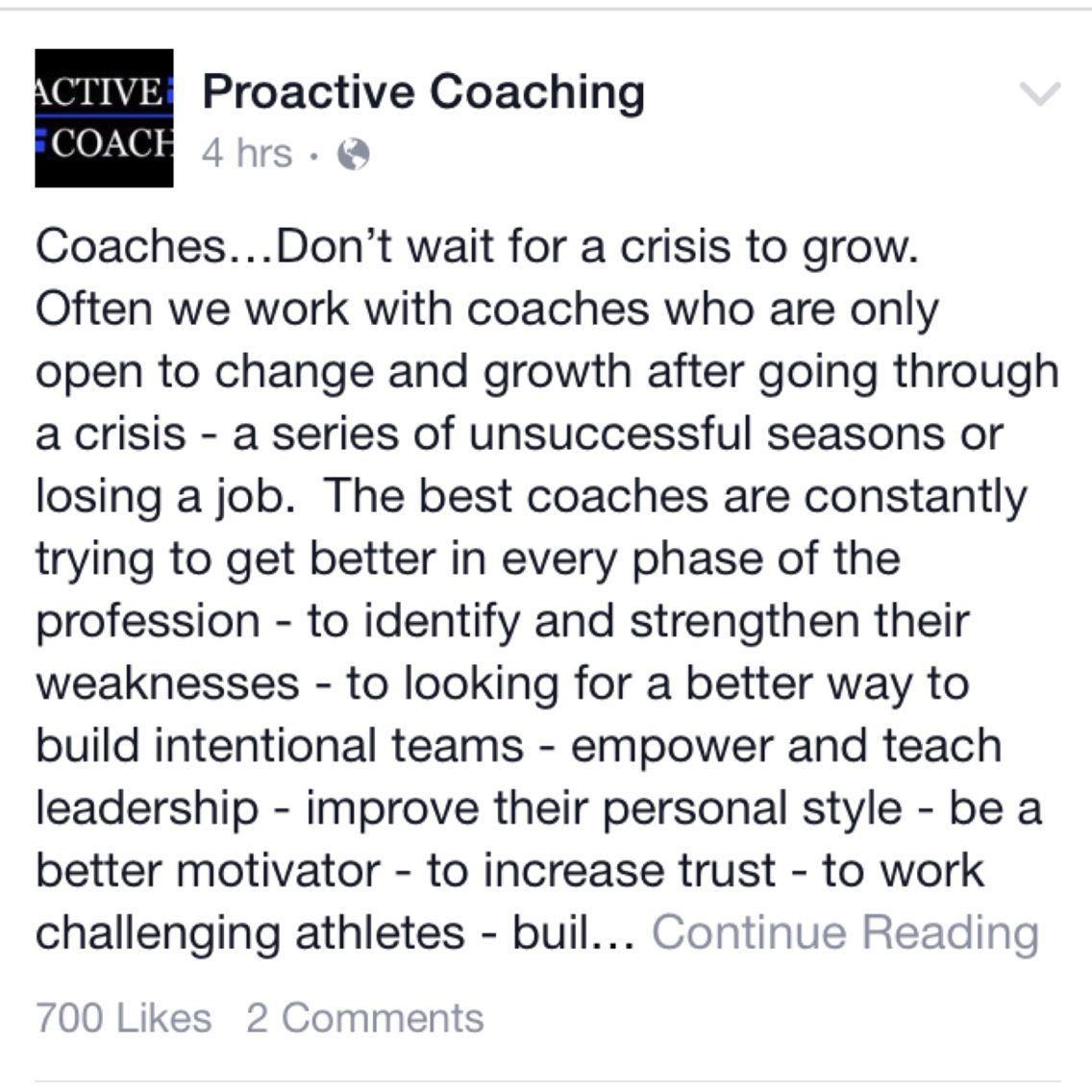 proactivecoaching Proactive, Lost job, Coaching