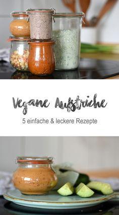 5 vegane Dips & Brotaufstriche - Tiny Green Footsteps