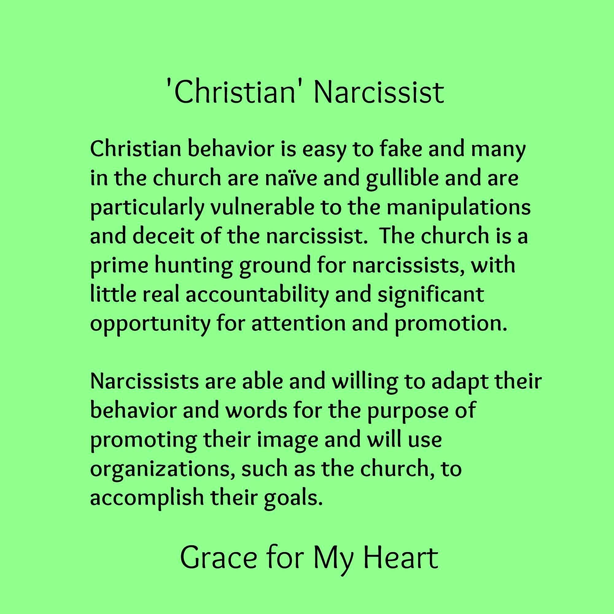 9e7745ae02e1759334b62d7fa9461fa6 christian narcissist christian behavior is easy to fake & many