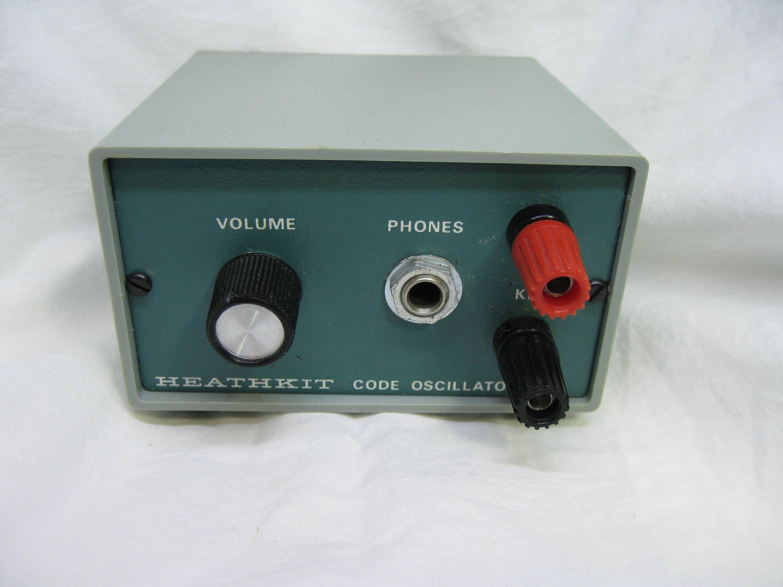 HEATHKIT Model HD-1416 Morse Code Practice Oscillator, Ham