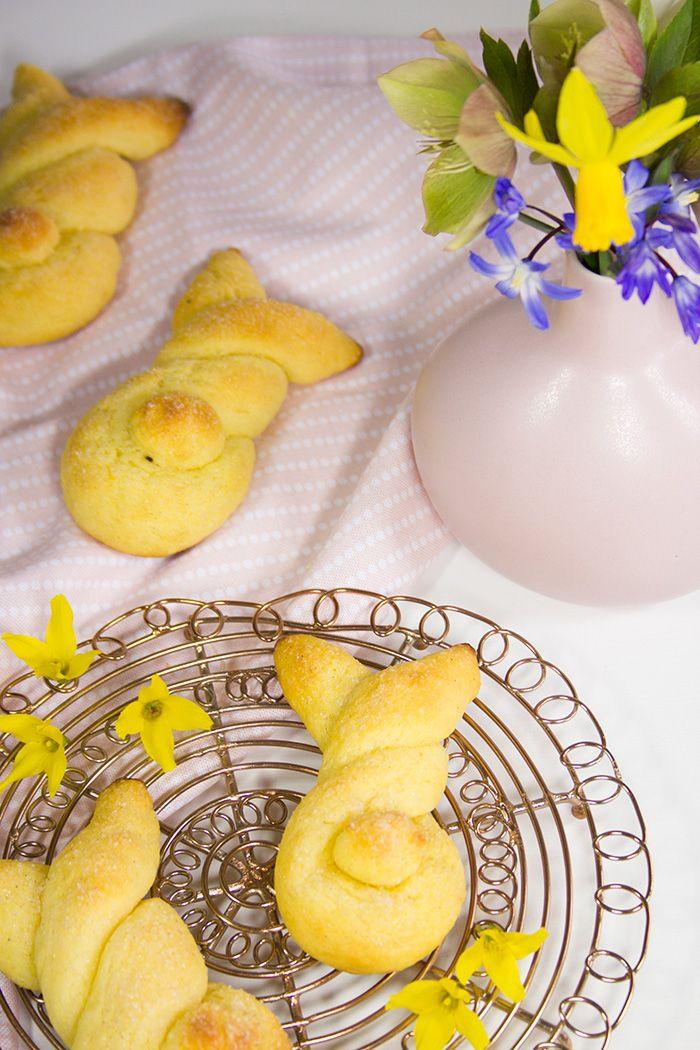 Vanille-Quark-Osterhäschen - Rezept | verzuckert-blog.de