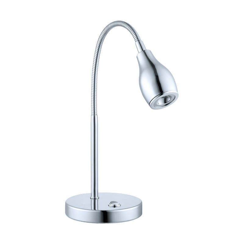 Eglo 92279a Chrome Naira 1 Light Led Swing Arm Desk Lamp Chrome Lamp Lamp Desk Lamp