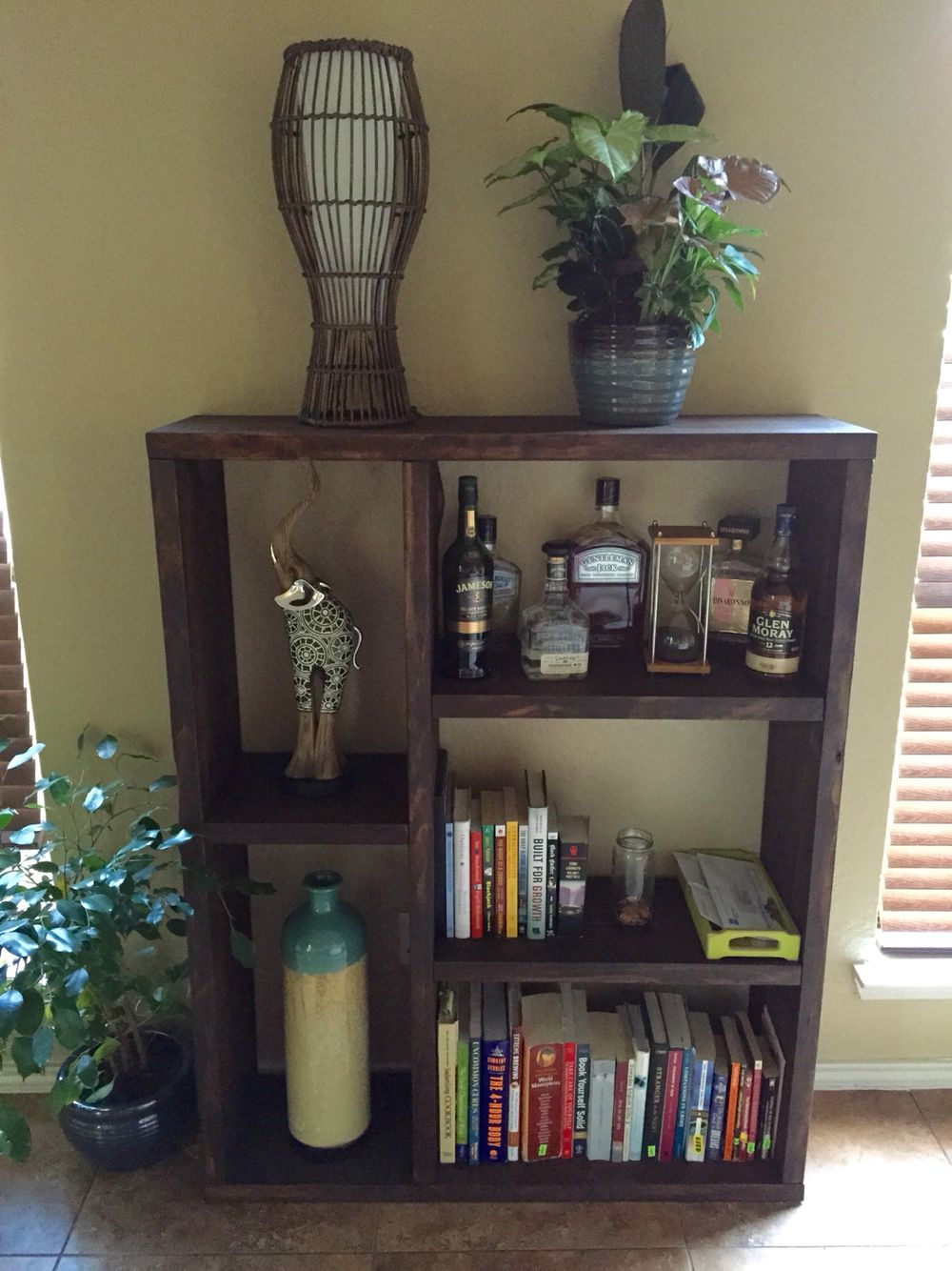 Handmade book/decoration shelves!