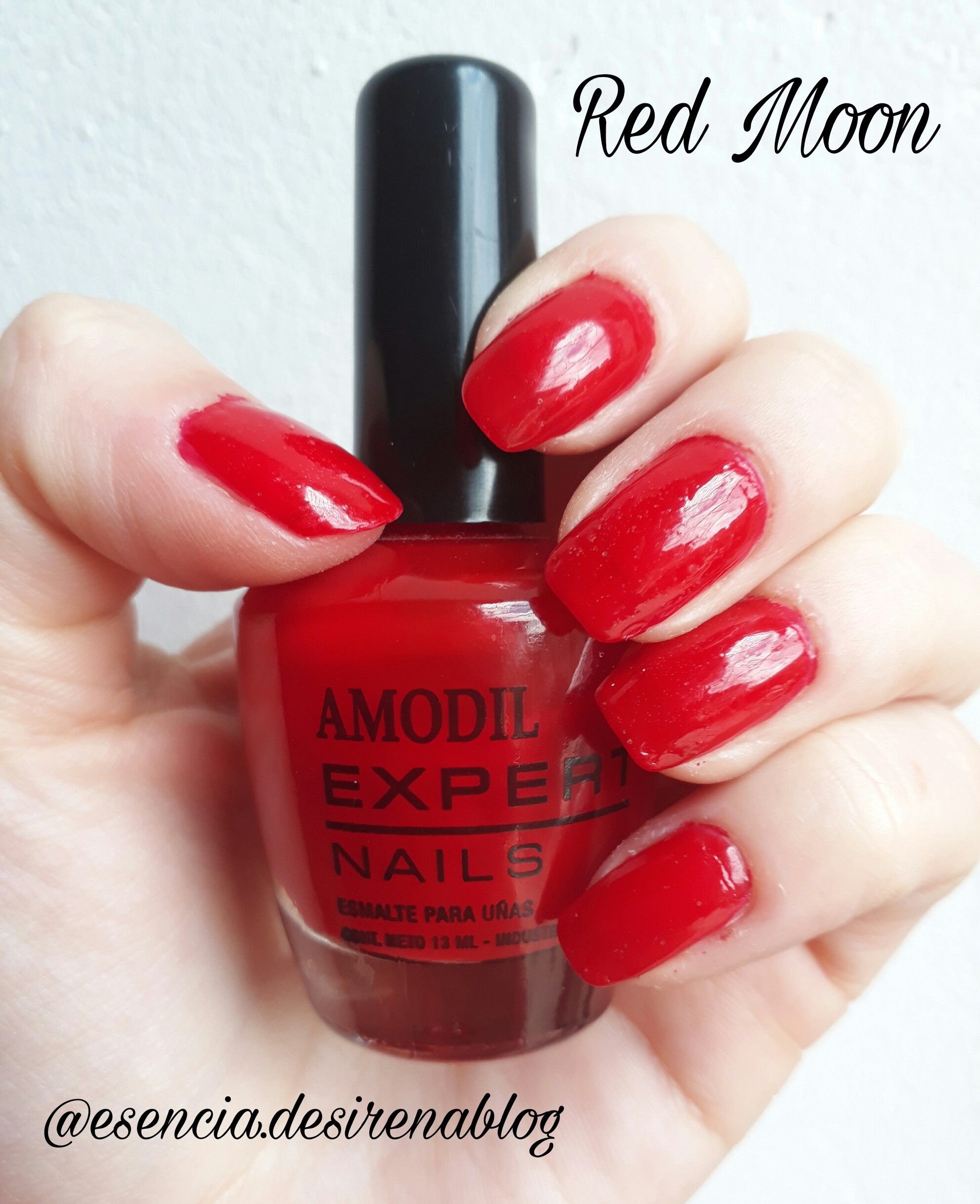 Red Moon Amodil Expert Nails | Amodil - Esmaltes | Pinterest | Red moon
