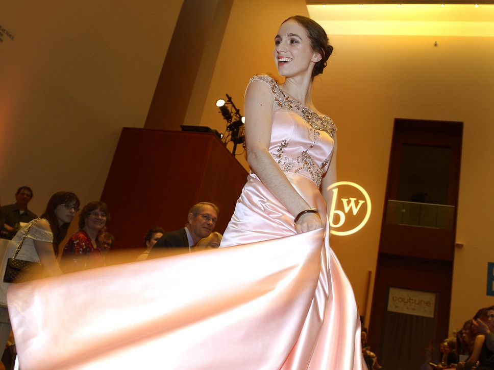 Ballet West dancers walked the catwalk during the sixth