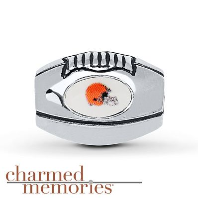 Charmed Memories Cleveland Browns Charm Sterling Silver GqCBGTof4