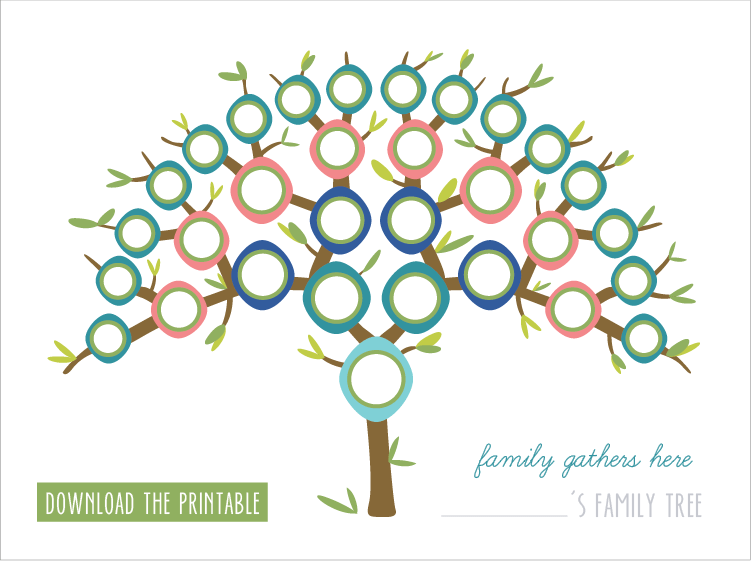17 Creative Family Tree Ideas Printables