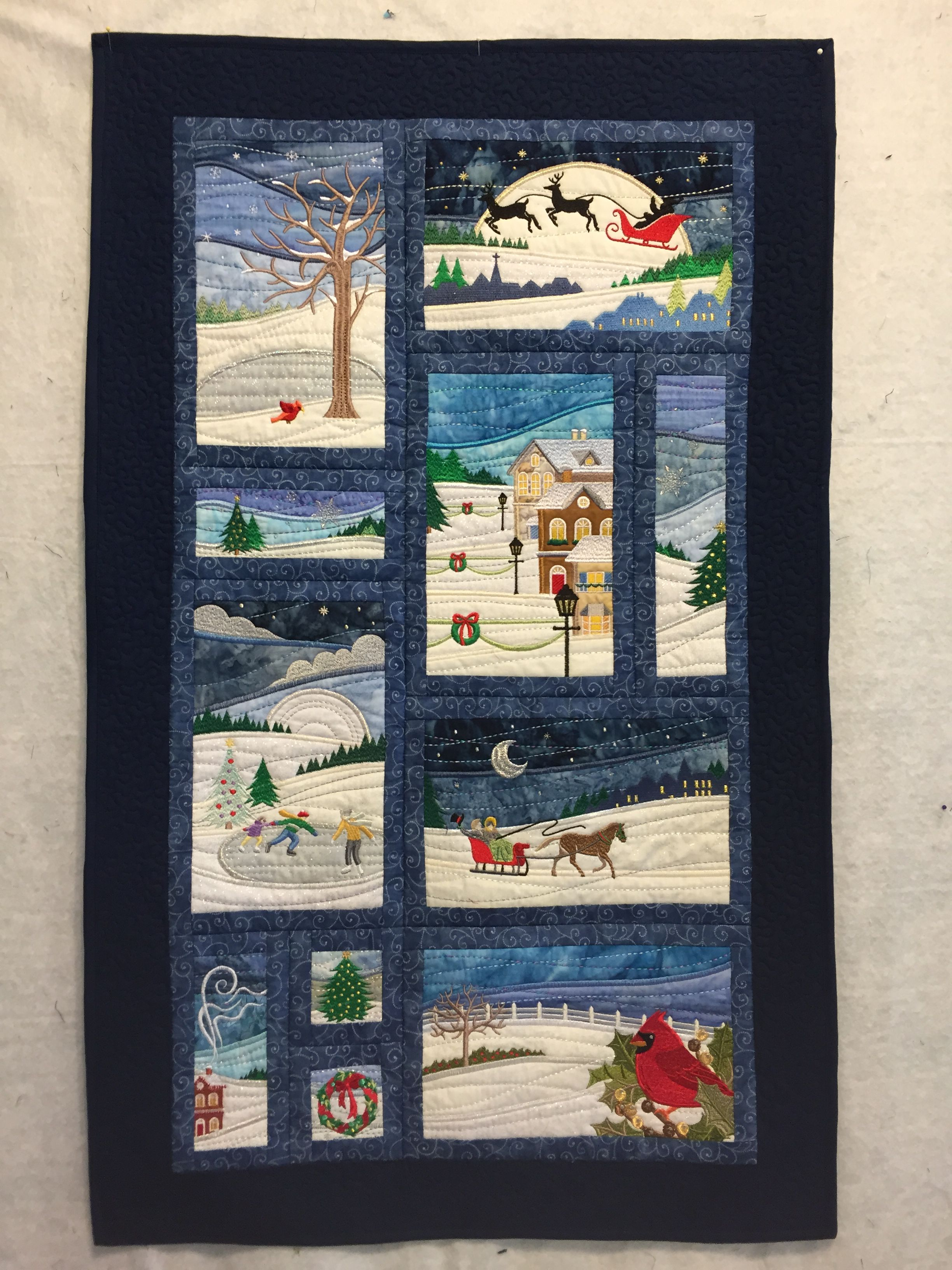 Landscape Art Quilts Patterns