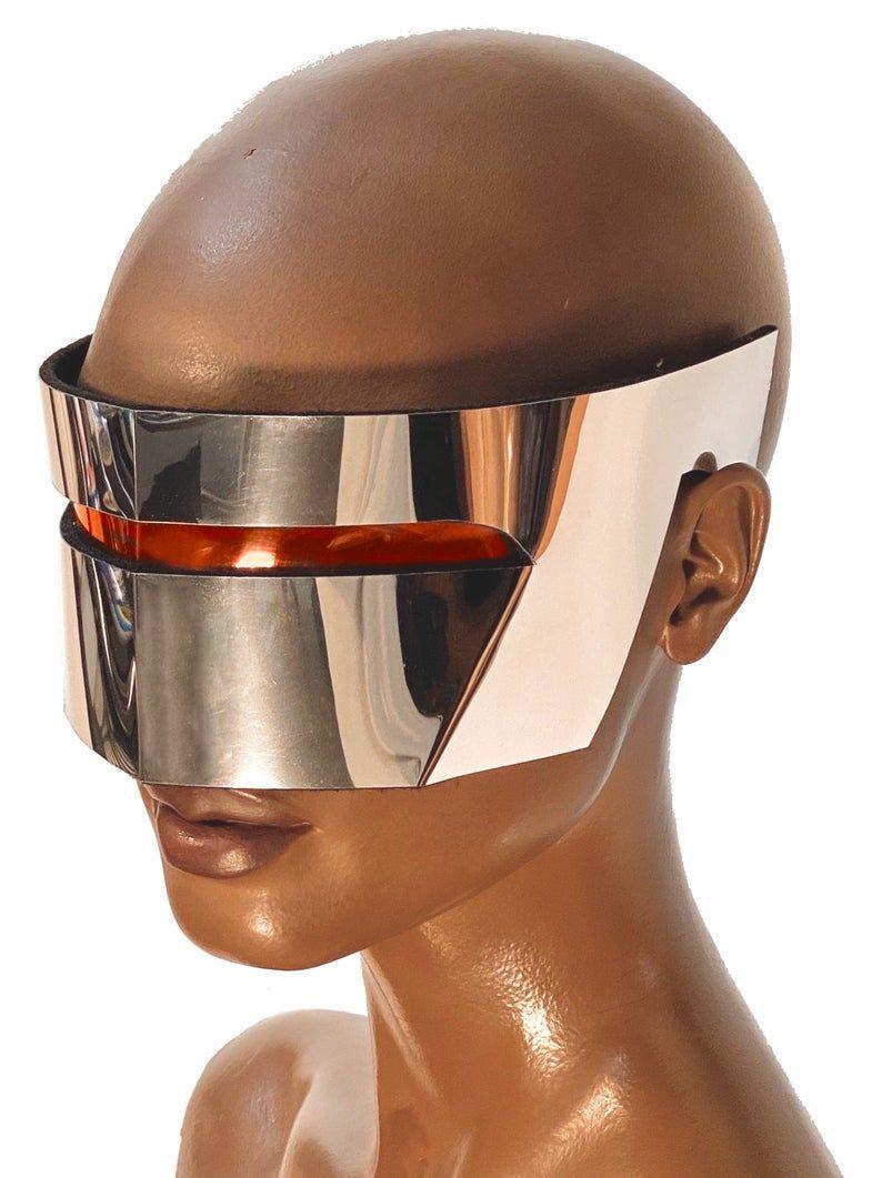 Robot goggles futuristic eyewear, scifi, cyber eyewear ...