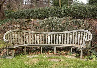 Vecchie Panchine Da Giardino.Garden Bench Plum Walk Dumbarton Oaks Beatrix Farrand C 1931
