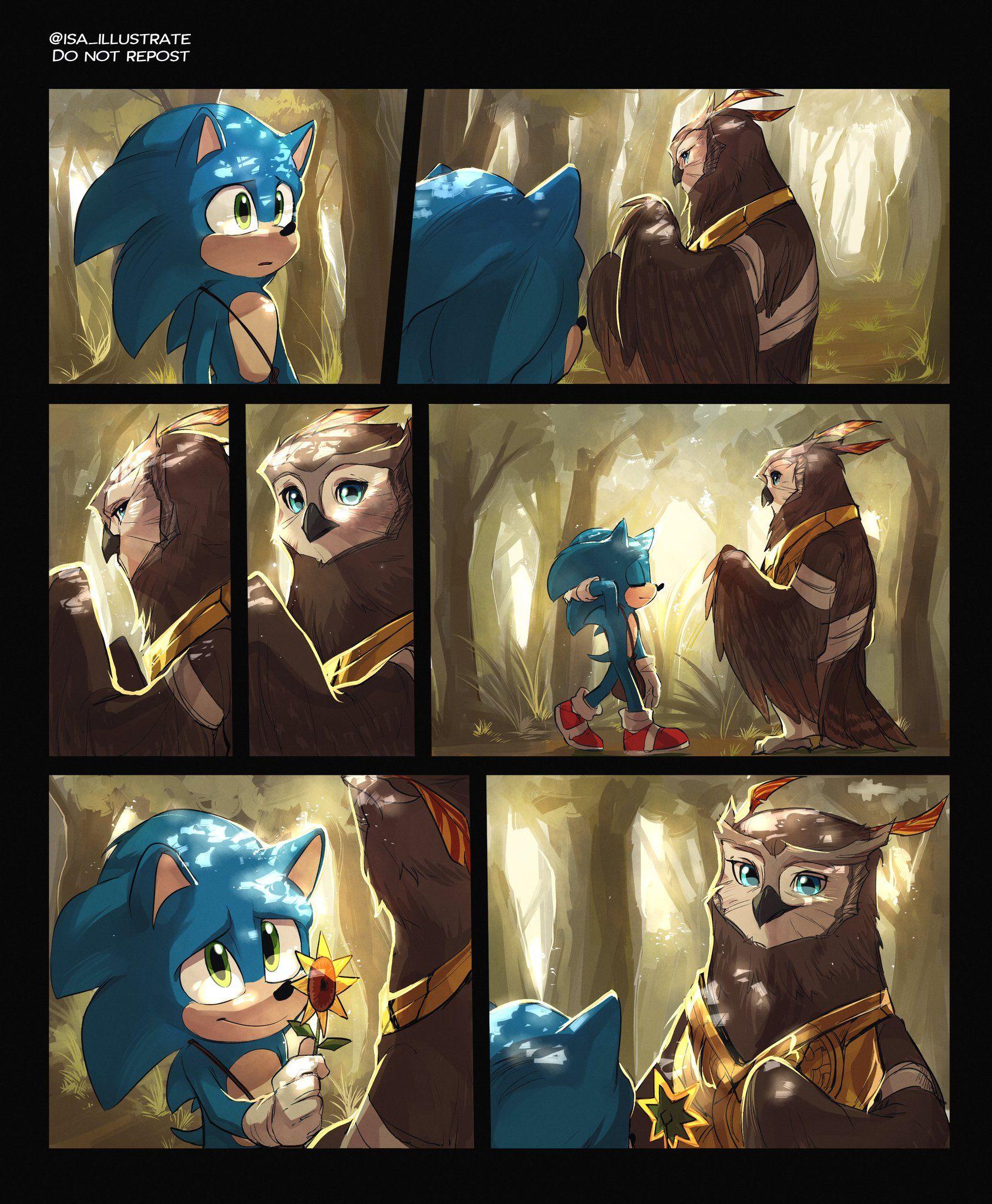 Isa이사 On Twitter In 2020 Sonic Art Sonic Fan Characters Hedgehog Movie