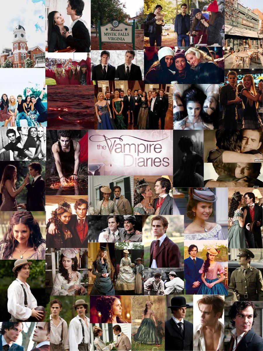 The Vampire Diaries Collage Vampire Diaries Wallpaper Vampire Diaries Memes Vampire Diaries Poster