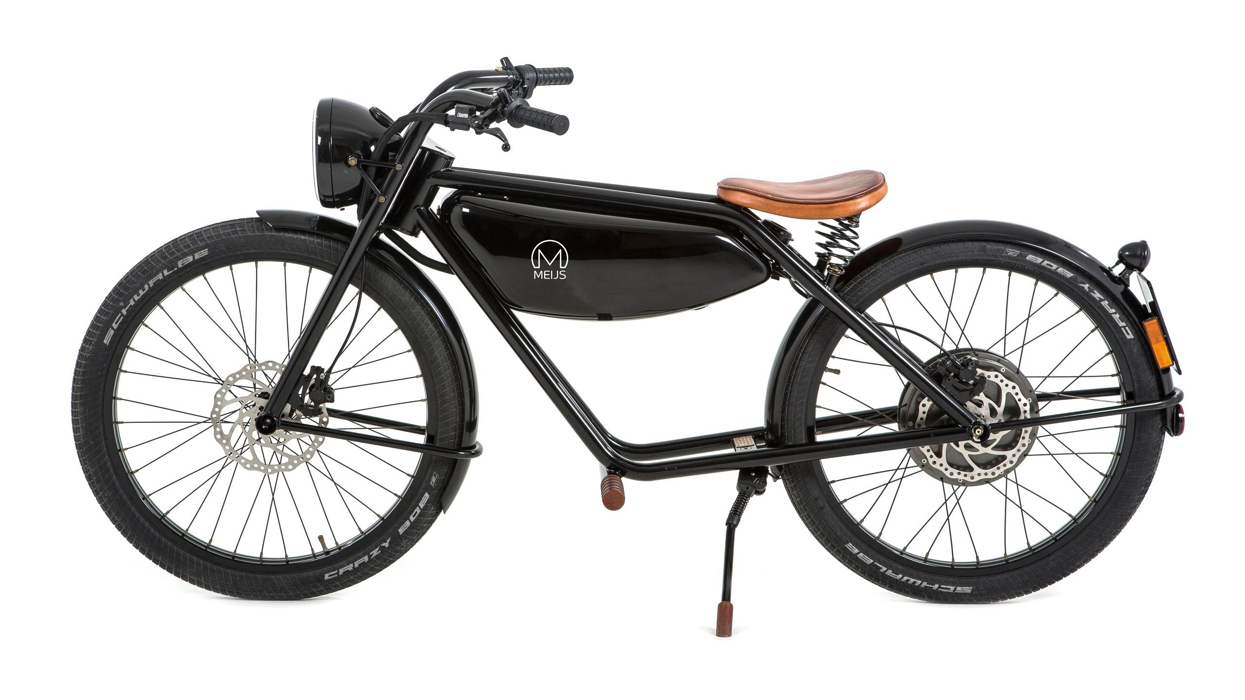 Motorman Cool Retro Style Electric Moped Designed And Build In