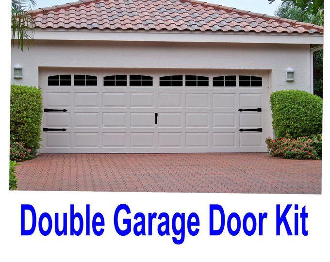 Vinyl Faux Carriage Garage Door House Pinterest Garage Doors