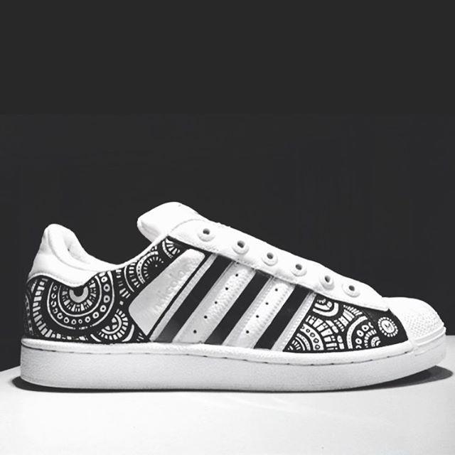 free shipping 1b97d c91a9  adidas  adidasstansmith  posca  sneaker  sneakerfreak  illustration   custommade