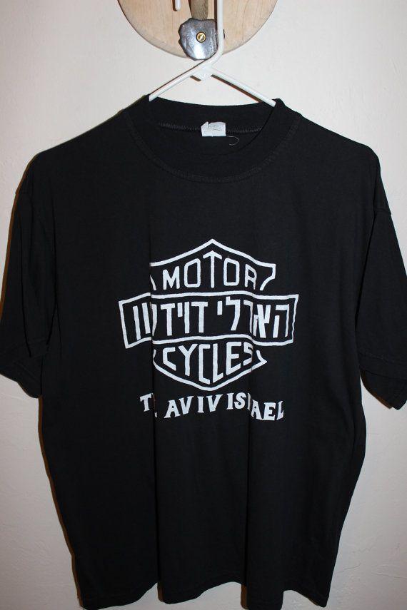 Harley-Davidson Hoodie sweatshirt Long Sleeves Men Woman Tel Aviv Israel Black