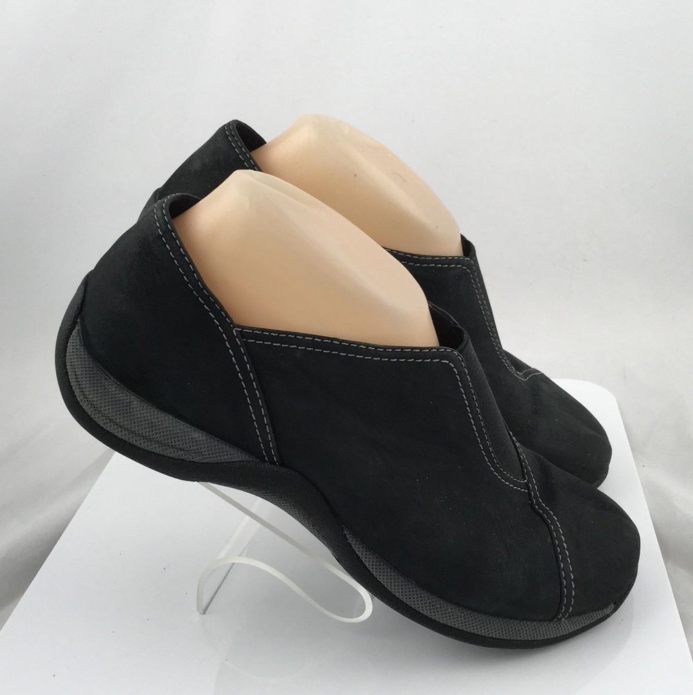 1c652de9311 Clarks Springers Suede Slip On Shoes womens Size 8.5 M  Clarks  SlipOn   Casual