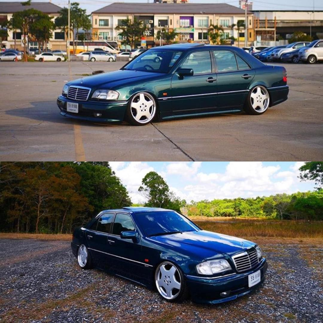 via armblack mercedes benz w202 w202gram wheels low lowered stance clean illest. Black Bedroom Furniture Sets. Home Design Ideas
