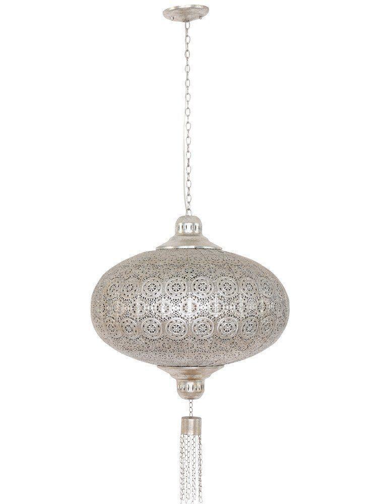 Betoverende Hanglamp Lumidem Salem Zilver Eettafel Lamp