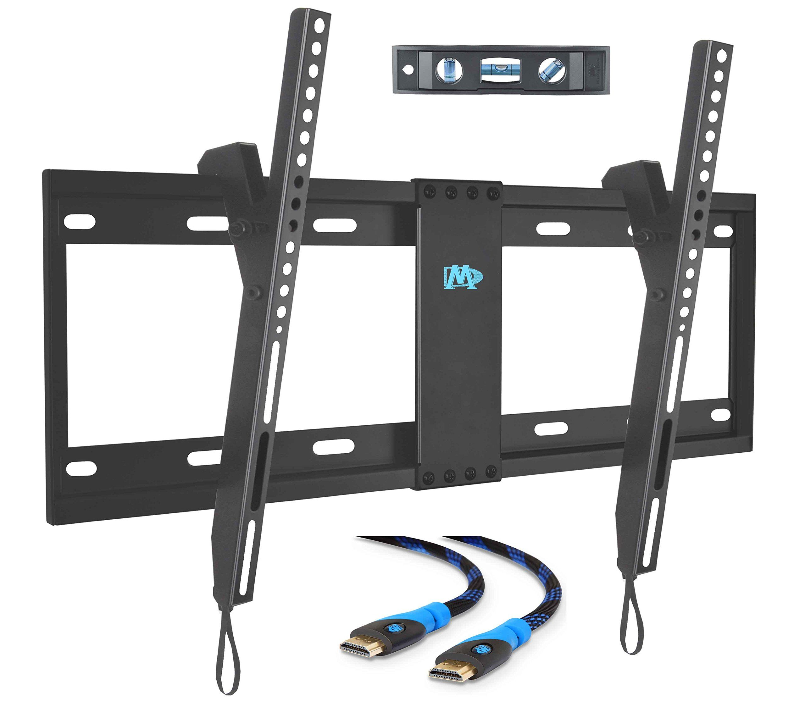 Mounting Dream Md2268 Lk Tv Wall Mount Tilting Bracket For Most 42 70 Inch Led Lcd And Plasma Tvs Up To Vesa 600 Wall Mounted Tv Tv Wall Tilting Tv Wall Mount