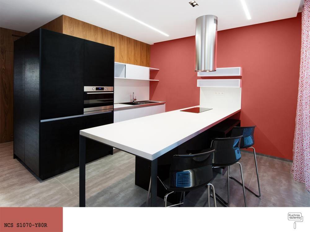 Pin On Kuchnie W Kolorze Czerwonym
