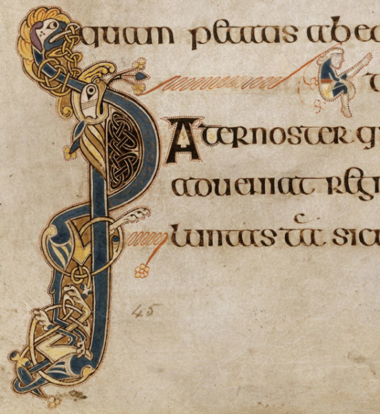 Lettering, Cartographer, Anglo Saxon
