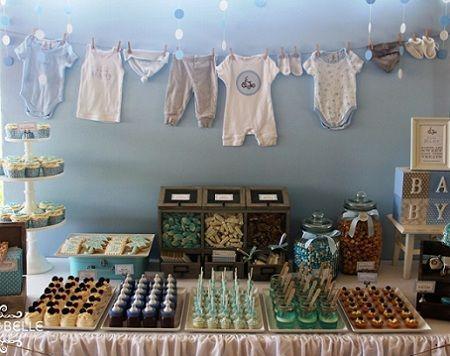 cumpleanos-1-ano-nino-mesa   Baby shower niño   Pinterest   Babys
