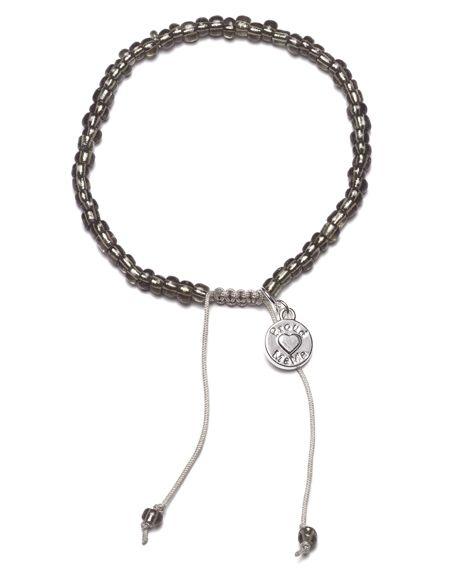 #proudmama #armband beads antraciet