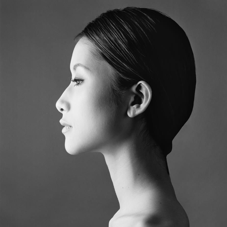 Картинки женское лицо в профиль