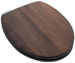 Lovely Fashionable Solid Wood And Veneer Toilet Seats