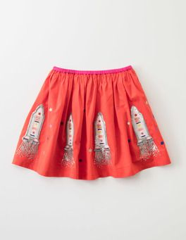 541688381 Red Rocket Space Rocket Skirt Boden | Sugar and Spice | Kids outfits ...