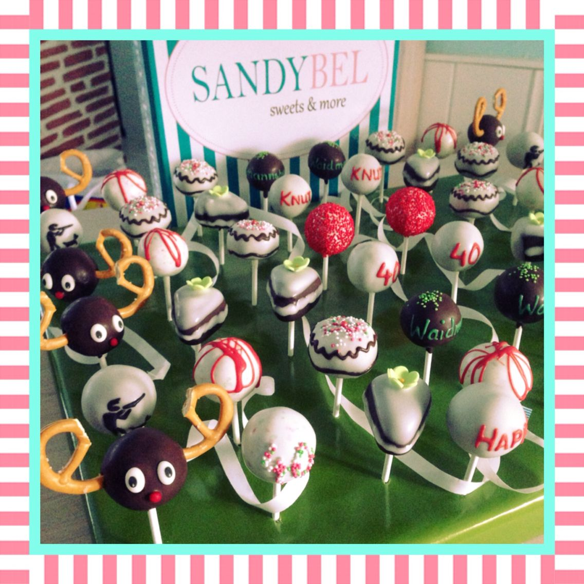 Cake Pops für Jäger by #sandybel #aufderjagd #nürnberg