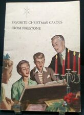 #1960 Favorite Christmas From Firestone Sheet Music Book Vintage C1 #vintagesheetmusic